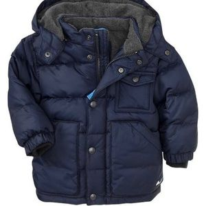 Boys gap puffer coat